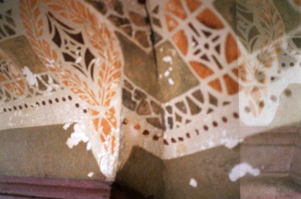 Restaurierungen (Decke vorher)
